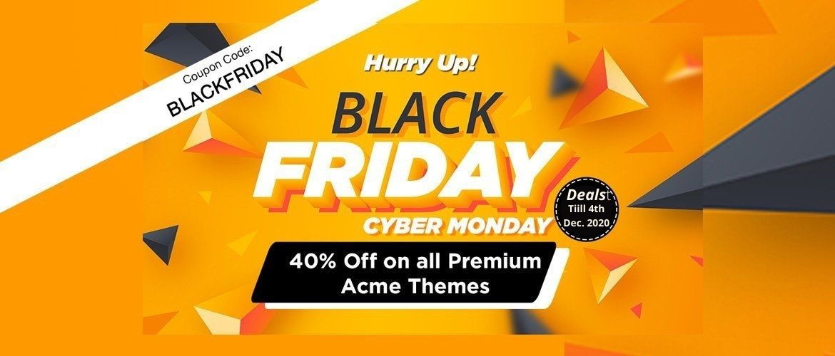 Acme Themes Black Friday Deals